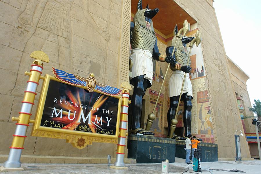 Grandes Proyectos -Universal Studios Singapore -Egypt