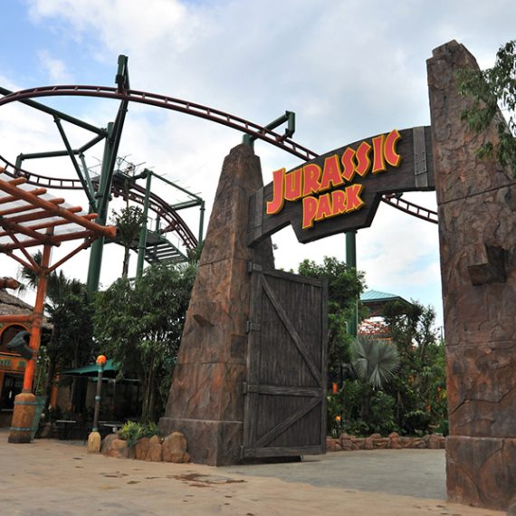 Grandes Proyectos -Universal Studios Singapore - Jurassic Park